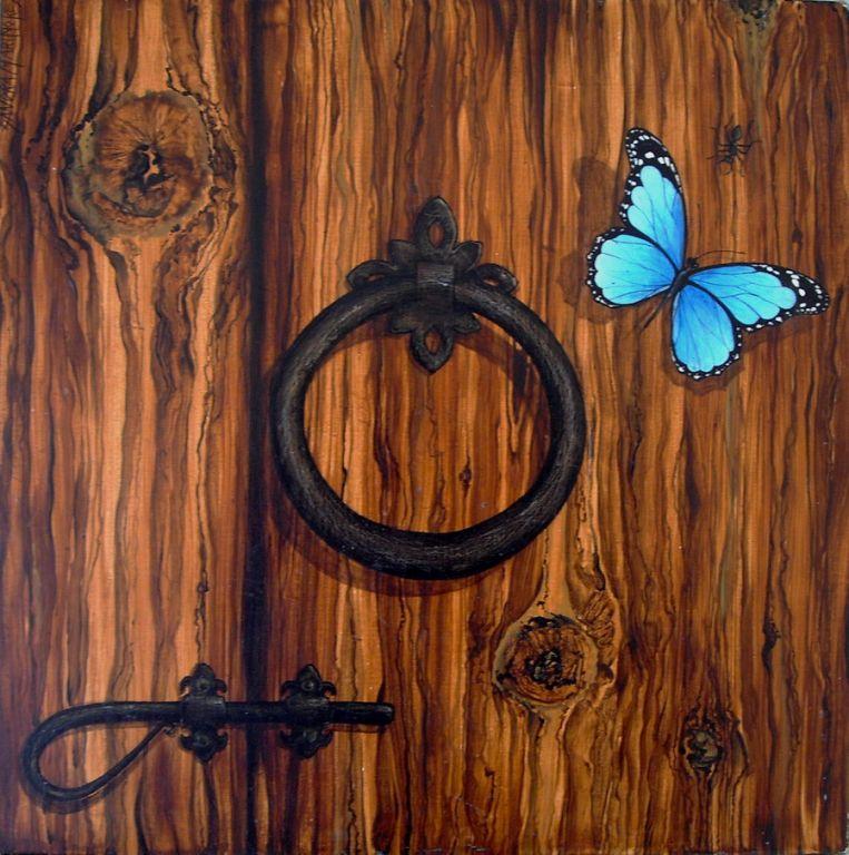 Pintar una madera aprende a pintar con oleo - Aprender a pintar en madera ...