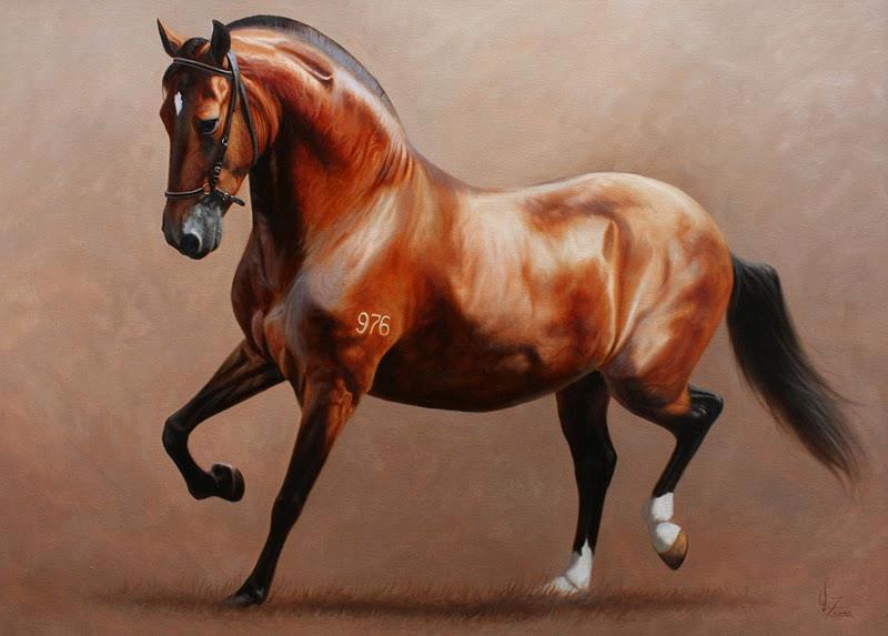 Imagenes de caballos para pintar al oleo imagui - Cuadros de pies ...