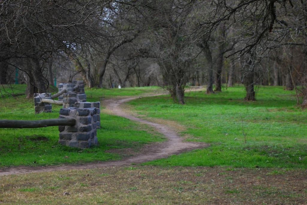 Parque Francisco Tau - Camino